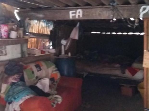 Casa do idoso que abrigava mulher e filha é suja, diz órgão (Foto: Divulgação/ Conselho Tutelar Tatuí)