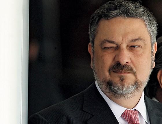 MEU GURU Antonio Palocci aproximou Nelson Barbosa de Lula e o recolocou no jogo da economia (Foto: Wilson Pedrosa/Estadão Conteúdo)