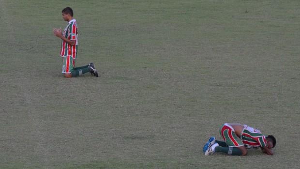 Boca Júnior 1x1 América-SE (Foto: João Áquila/GLOBOESPORTE.COM)