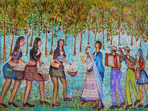 Obra dos artistas Nilson Pimenta e Valques Rodrigues estão expostas  (Foto: Divulgação)