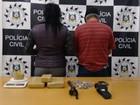 Tio e sobrinha suspeitos de tráfico perto de escola são presos no RS