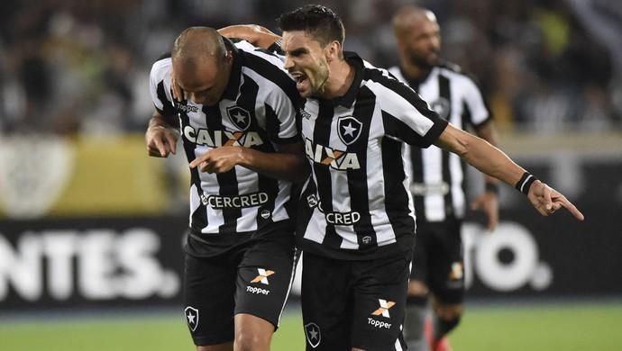 roger gol botafogo vasco (Foto: André Durão / GloboEsporte.com)