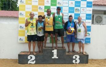 Vôlei de Praia: dupla James/Jadson vence a última etapa do Master 40+