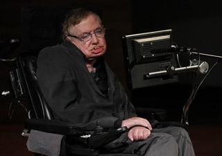 O físico Stephen Hawking (Foto: Bruno Fahy/AFP)