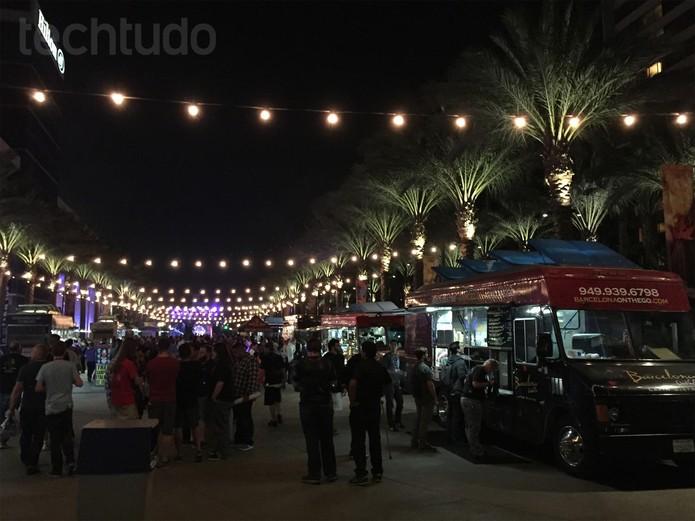 Foto tirada com o iPhone 6 durante a noite (Foto: Anna Kellen Bull/TechTudo)
