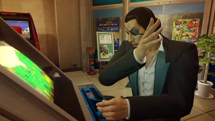 Out Run também está em outros jogos, como Yakuza Zero (Foto: Divulgação/Sega)