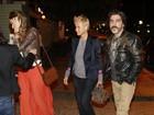 Sasha vai com a mãe, Xuxa, a restaurante carioca