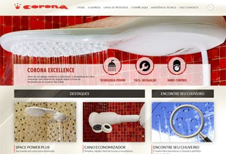 Fabricante de chuveiros Ducha Corona foi comprada pela Duratex por R$ 116 milhões (Foto: Reprodução)