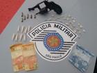 Homem é preso por porte ilegal de arma de fogo em Lençóis Paulista