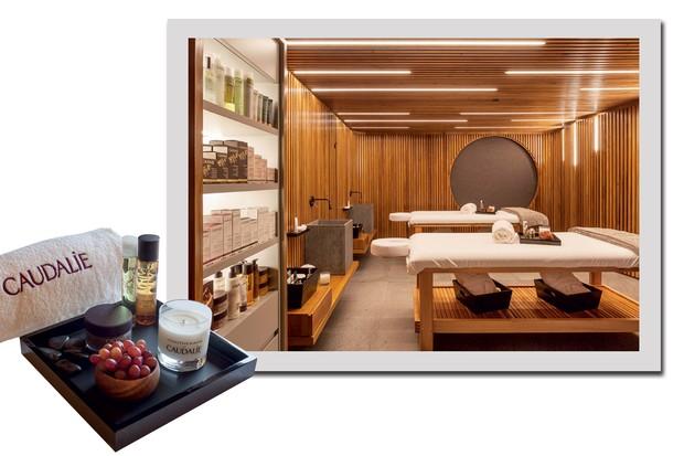 O spa da Caudalie no hotel Unique (Foto: Divulgação)