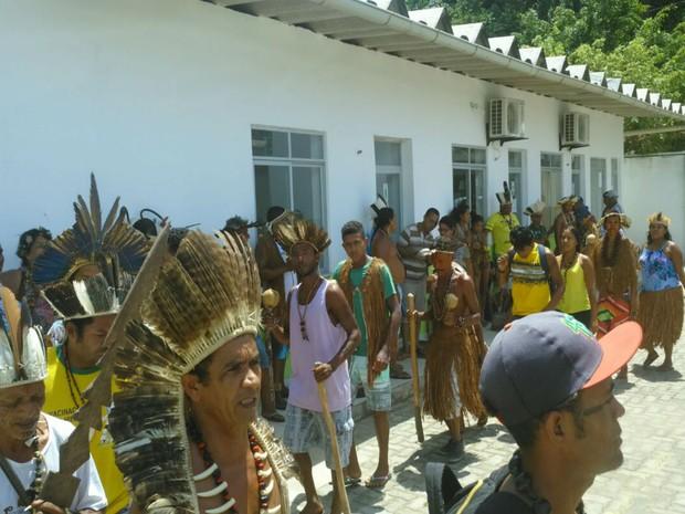 Ocupação começou na terça-feira  (Foto:  José Sival Teixeira de Magalhães)