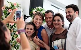 Elenco de 'Amor à Vida' grava cenas do casamento de Elias e Gina