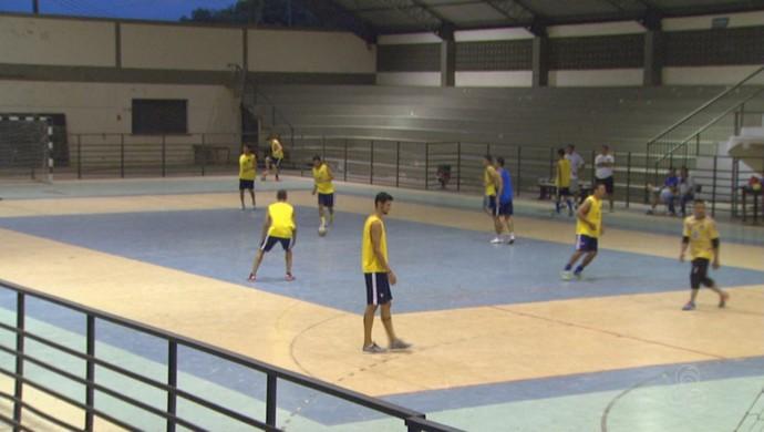 12948e6d0e Constelação realiza último treino antes de partir para Ananindeua (Foto   reprodução Globo Esporte