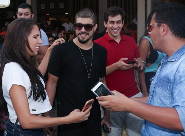 Caio Castro  (Foto: Denilson Santos e Francisco Cepeda / AgNews)