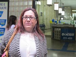 A professora Loide Gomes da Cunha (Foto: G1)