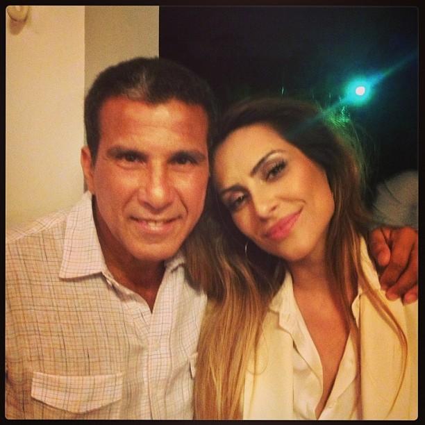 Eri Johnson e Cleo Pires no aniversário de Olrando Morais (Foto: Instagram/ Reprodução)