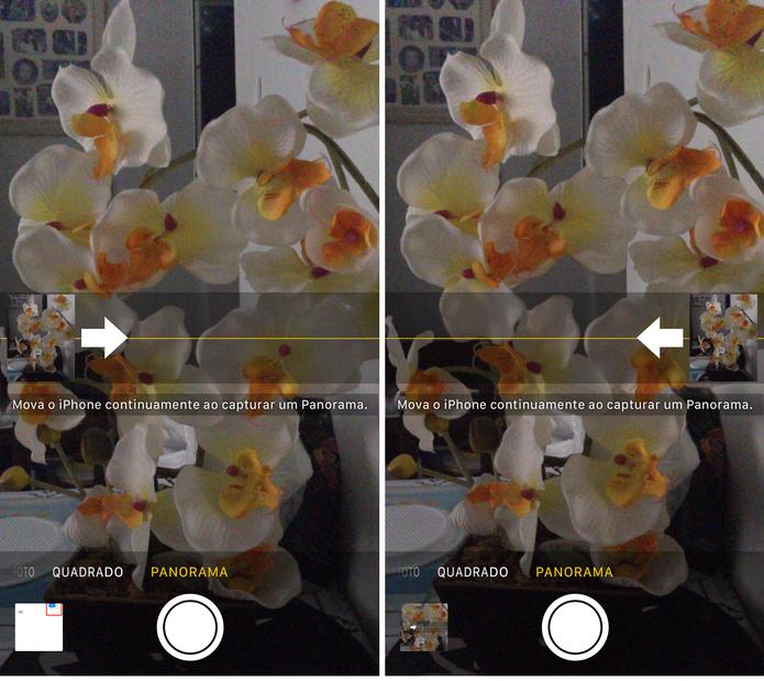 Foto panorâmica no iPhone (Foto: Reprodução/Lucas Mendes)