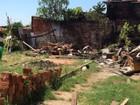 Residência mista no Jardim Brasília é destruída após incêndio