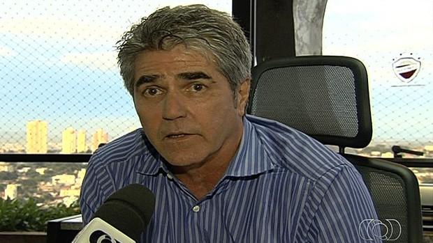 Leonardo Rizzo - Vila Nova (Foto: Reprodução / TV Anhanguera)