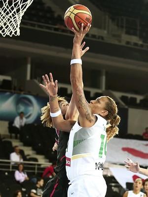 Erika seleção brasileira de Basquete (Foto: Divulgação / FIBA)
