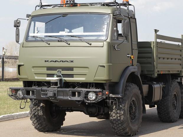 Russa Kamaz quer concluir projeto de caminhão sem motorista até 2020 (Foto: Divulgação)