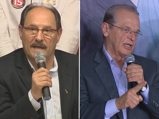 José Ivo Sartori e Tarso Genro disputam o segundo turno da eleição para governador do RS  (Foto: Montagem sobre fotos de reprodução)