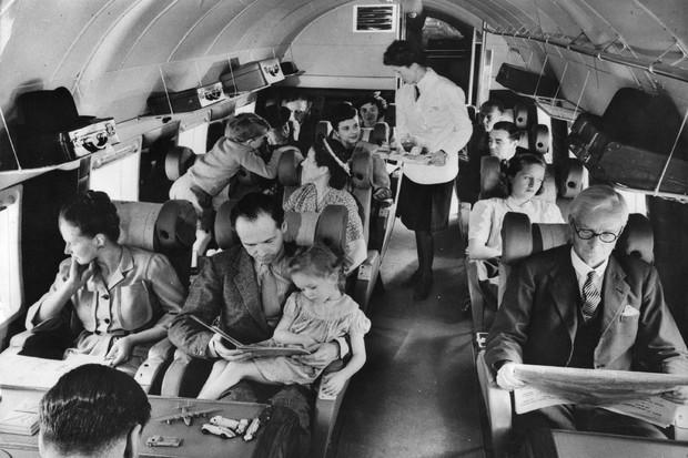 Viagem de avião  (Foto: getty images)