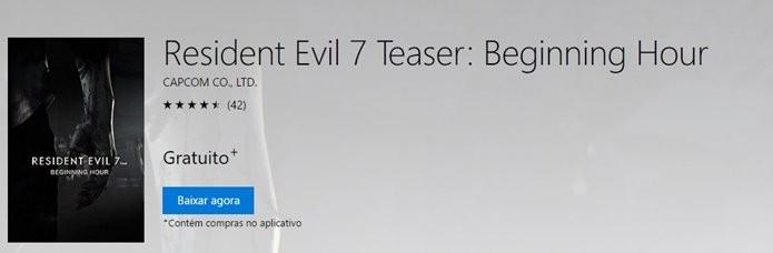 Demo de Resident Evil 7 mostra o que os fãs podem esperar do jogo (Foto: Reprodução/Felipe Demartini)