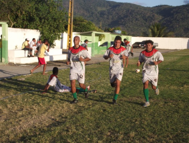 União treino (Foto: Leonardo Freire/GLOBOESPORTE.COM)