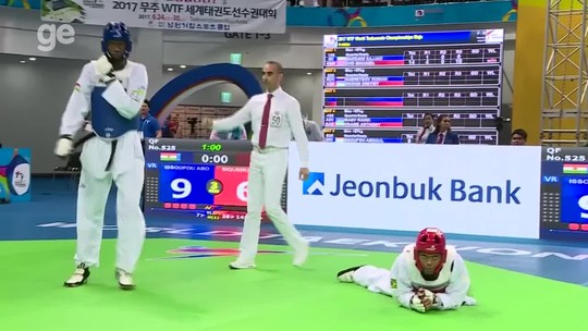 Maicon Andrade perde para nº 4 do mundo e cai nas quartas do Mundial de Muju