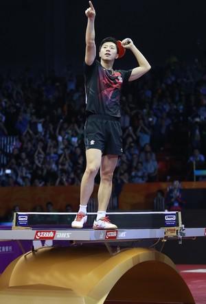 ma long, china, tênis de mesa (Foto: ITTF/Divulgação)