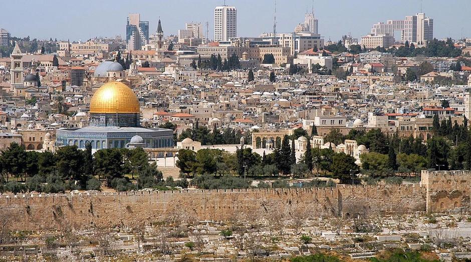 jerusalém, israel, cidade (Foto: Wikimedia Commons)