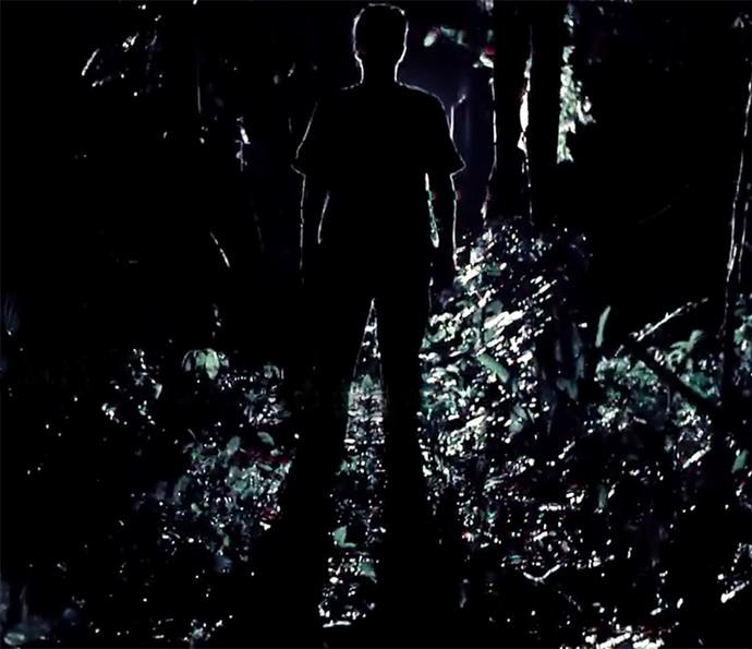 Abertura de 'Supermax' tem vultos e muita escuridão (Foto: TV Globo)