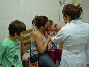 Vacinação Cacoal (Foto: Magda Oliveira/G1)