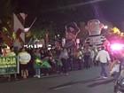 Cuiabá tem protesto contra nomeação do ex-presidente Lula na Casa Civil
