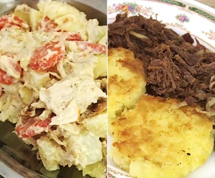 Receitas com comida dormida (Foto: TV Globo)