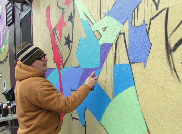 A cor dos grafites invade Bushwick