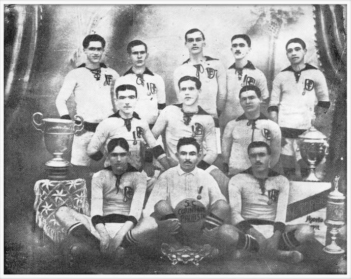 Equipe Corinthians 1914 (Foto: Divulgação / Memorial do Corinthians)