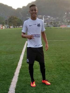 Ourinho jogador Santos (Foto: Futpress / Divulgação)
