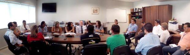 Reunião aconteceu no prédio da Fecomércio, em Rio Branco (Foto: Thiago Cabral)