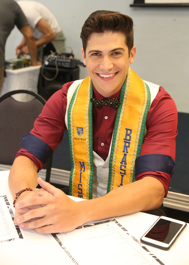 Carlos Franco, Mister Brasil CNB 2016 e Mister World  2018 (Foto: Leonardo Rodrigues/ Destac Assessoria)