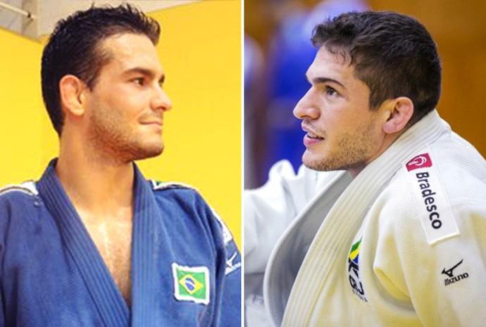 Materia Judocas (Foto: David Abramvezt e Divulgação/CBJ)