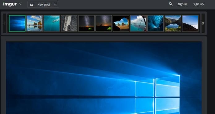 Como Baixar Os Wallpapers Do Windows 10