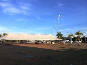 Quem for ao local terá à disposição tendas de orientação veterinária (Foto: Laísa Camargo/TV TEM)