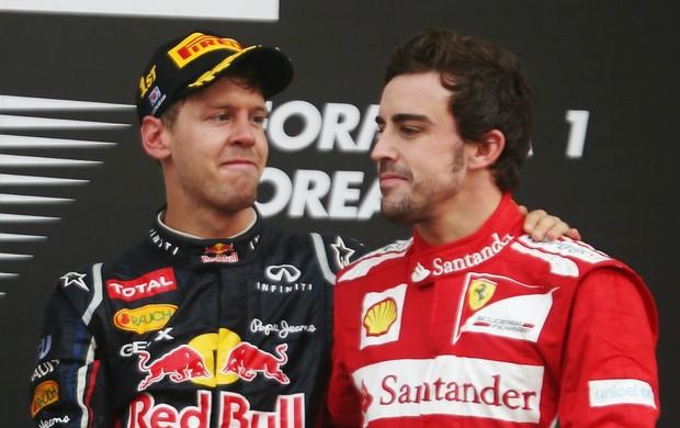 Vettel Alonso fórmula 1 (Foto: Getty Images)