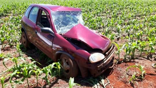 Motorista morre em colisão frontal em vicinal de Pedrinhas Paulista