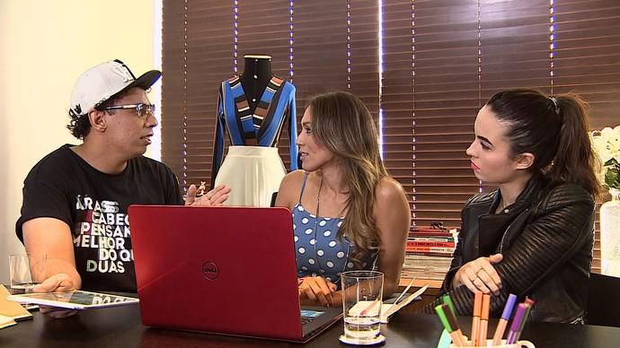 Reunião de consultores da segunda temporada do quadro 'Super Combinando' (Foto: TV Sergipe)
