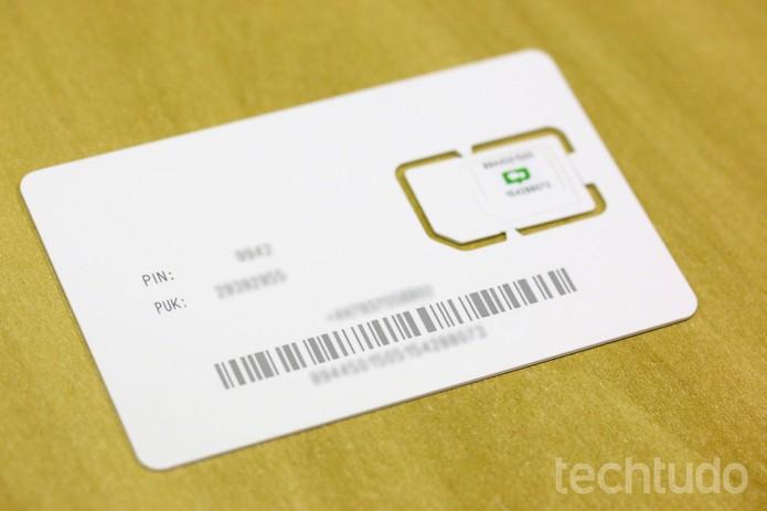 O número do ChatSim não pode ser associado a outro telefone (Foto: Ana Marques/TechTudo)