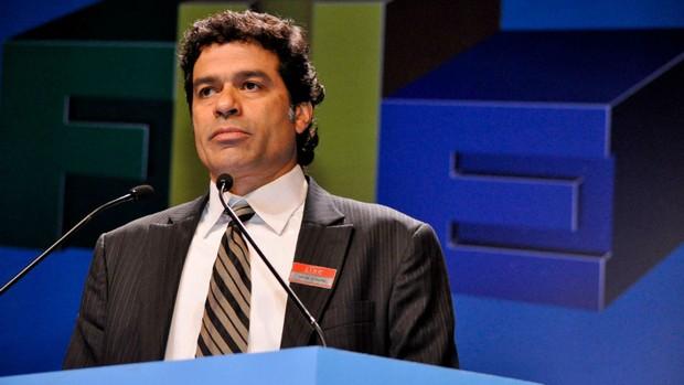 Raí no 2º Fórum Nacional do Esporte (Foto: Marcelo Prado / globoesporte.com)