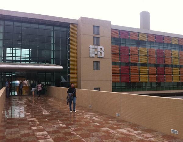 Campus Brasília do Instituto Federal de Brasília, onde é oferecido o curso de tecnologia em gestão pública (Foto: Raquel Morais/G1)